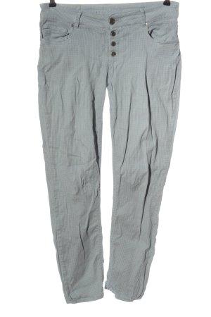 Coccara Pantalon taille basse gris clair style décontracté