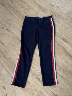 Coccara Jersey Pants dark blue-red