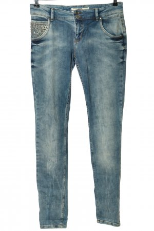 Coccara Tube Jeans blue casual look