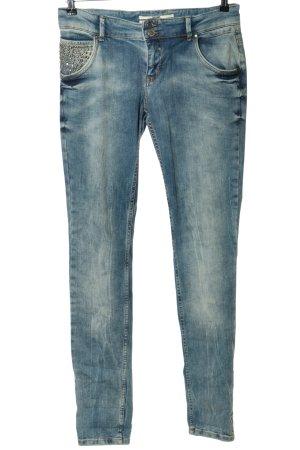 Coccara Jeans a sigaretta blu stile casual