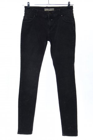 Coccara Skinny Jeans schwarz Casual-Look