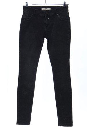 Coccara Skinny Jeans black mixture fibre