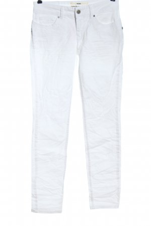 Coccara Slim Jeans white casual look