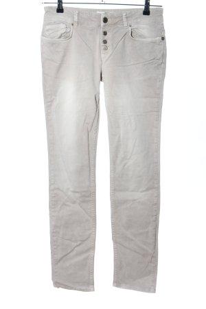 Coccara Slim Jeans hellgrau Casual-Look
