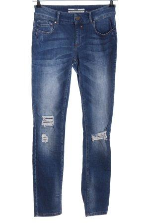 Coccara Slim Jeans blau Casual-Look