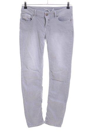 Coccara Jeans a gamba dritta grigio chiaro stile casual