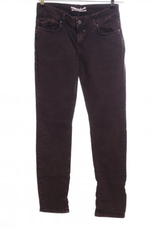 Coccara Straight-Leg Jeans braun Casual-Look