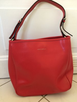 Coccinelle Handbag red leather