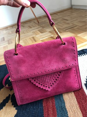 Coccinelle B14 Lace Suede Pink