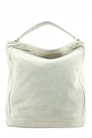 Coccinelle Pouch Bag light grey business style