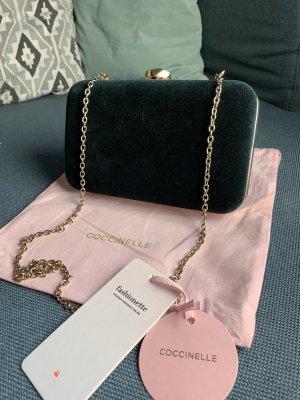 Coccinelle Box Velvet Crossbody Bag Caper - NEU