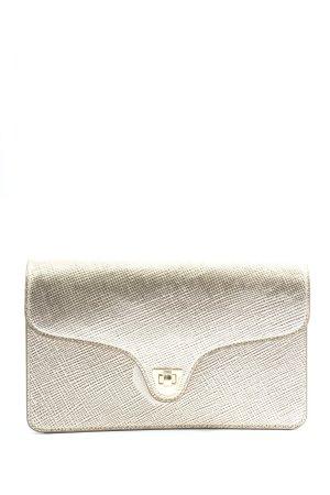 Coccinelle Clutch silberfarben Elegant