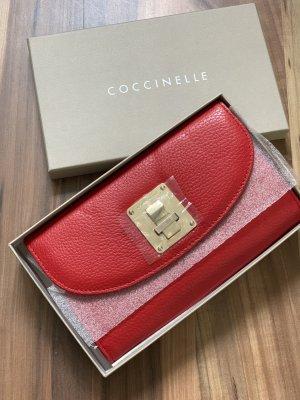Coccinelle Clutch/ Handtasche aus Leder