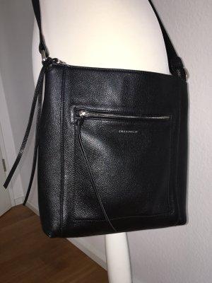 Coccinelle Crossbody Leder Tasche schwarz