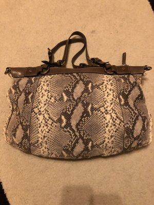 Coccinelle Damen Tasche mit Schlangenmuster