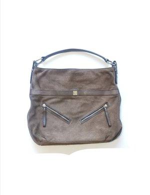 Coccinelle Designer  Handtasche Beutel braun Shopper Codice Lavorazione N°8