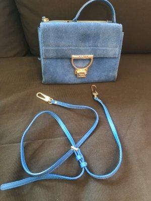 """Coccinelle - """"Doppeltasche"""", kornblumenblau"""