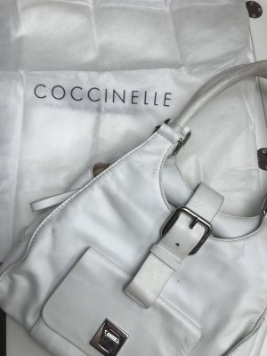 Coccinelle Bolso blanco Cuero