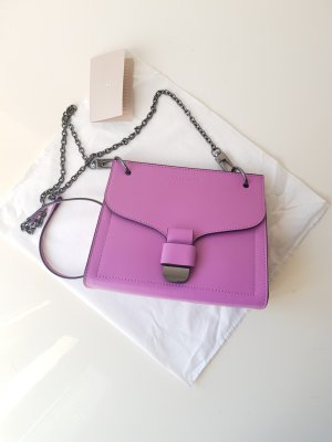 Coccinelle Crossbody bag lilac leather