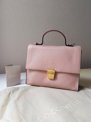 Coccinelle Echtleder Tasche Crossbody Minibag in Altrosa NEU