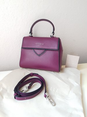 Coccinelle Echtleder Tasche Crossbody Minibag in Bordeaux
