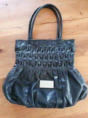 Coccinelle Goodie Bag aus schwarzem Leder
