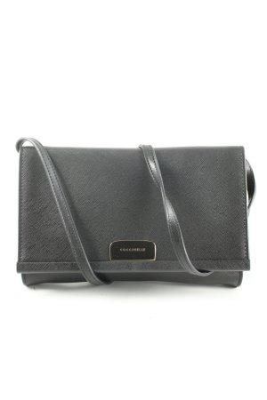 Coccinelle Handtasche schwarz Business-Look