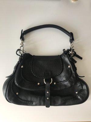 Coccinelle Handtasche aus Leder in Schwarz
