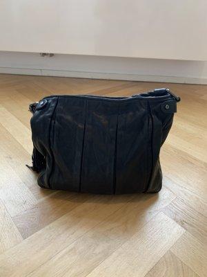 Coccinelle Handtasche Leder schwarz