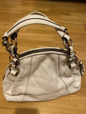 COCCINELLE Handtasche weiß
