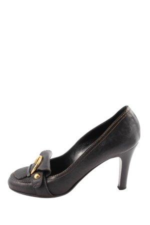 Coccinelle High Heels schwarz Business-Look