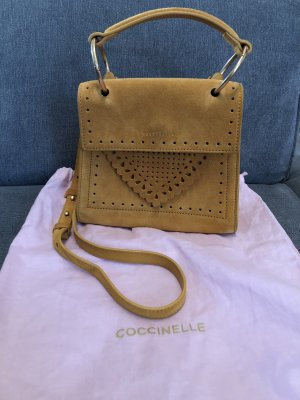 Coccinelle Crossbody bag lime yellow-gold orange