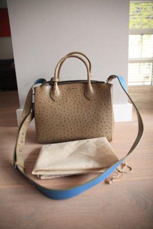Coccinelle Leder Luxus Handtasche Schultertasche Henkeltasche