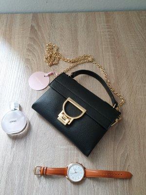 Coccinelle Leder schwarz Umhängetasche Tasche
