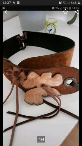 Coccinelle Leather Belt brown