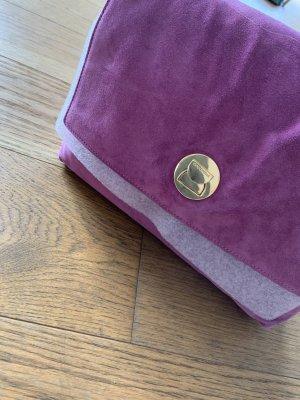 Coccinelle Bolso barrel violeta