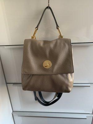 Coccinelle Liya taupe Tasche Rucksack