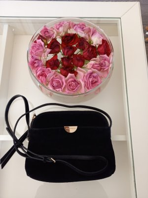 coccinelle mini suede rauleder crossbody bag