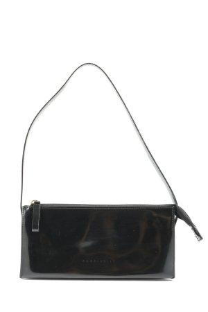 Coccinelle Mini Bag black wet-look
