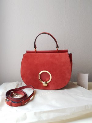 Coccinelle Crossbody bag russet leather
