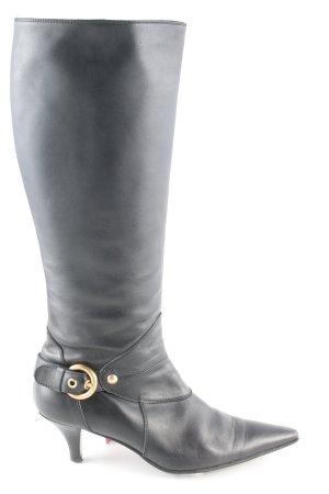 Coccinelle Schlüpf-Stiefeletten schwarz Casual-Look