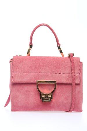 "Coccinelle Schultertasche ""Arlettis Suede Crossbody Bag"" pink"