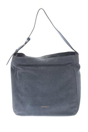"""Coccinelle Schultertasche """"Handbag Suede"""" blau"""