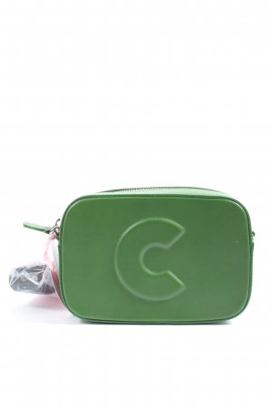 Coccinelle Schultertasche grün Casual-Look