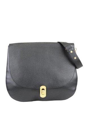 Coccinelle Schultertasche in Schwarz aus Leder