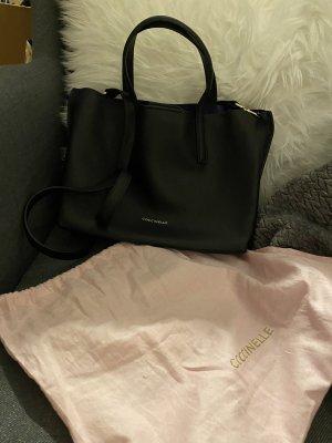 Coccinelle schwarze Tasche