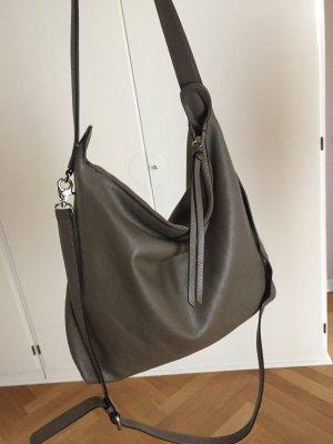 Coccinelle Borsa shopper marrone-grigio-argento Pelle
