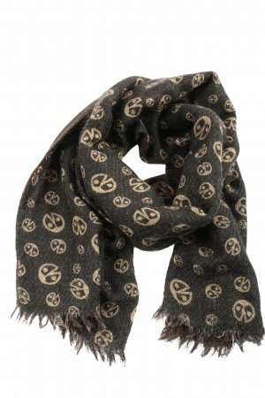 Coccinelle Knitted Scarf allover print casual look