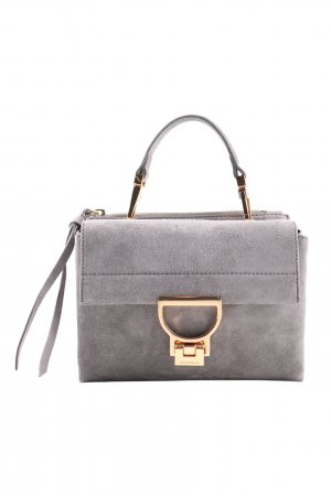 Coccinelle Tasche hellgrau Business-Look