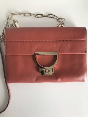 Coccinelle Crossbody bag bright red-salmon